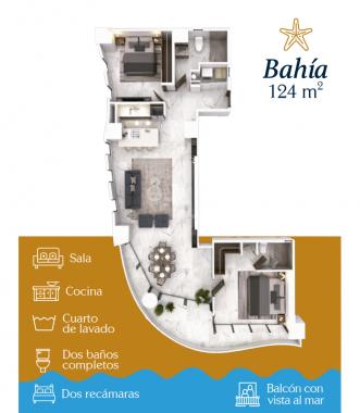 BAHÍA 124 M2
