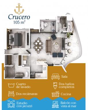 CRUCERO 105 M2